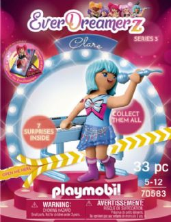 PLAYMOBIL MONDE MUSICAL - CLARE #70583