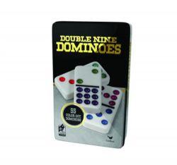DOMINOS DOUBLE 9 EN COULEUR