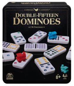 DOMINOS COULEURS DOUBLE 15 TRAIN MEXICAIN