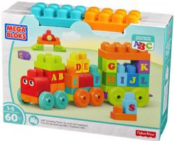 LE TRAIN DE L'ALPHABET 60PCS