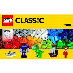 LEGO BRIQUES BOÎTE DE CRÉATIVITÉ BOÎTE D #10693