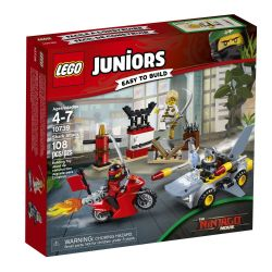 JUNIORS NINJAGO L'ATTAQUE DU REQUIN #10739