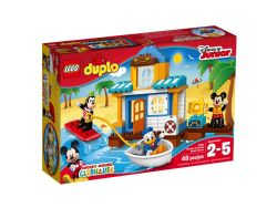 LA MAISON À LA PLAGE DE MICKEY ET SES AMIS - LEGO DUPLO #10827***