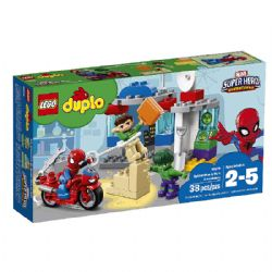 DUPLO LES AVENTURES DE SPIDER-MAN ET HULK (0118) #10876