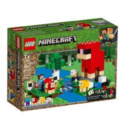LEGO MINECRAFT LA FERME DE LAINE #21153