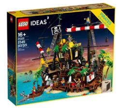 LEGO IDEAS - LES PIRATES DE LA BAIE DE BARRACUDA