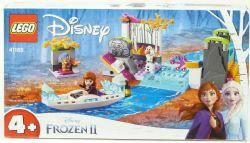L'EXPÉDITION EN CANOT D'ANNA LEGO DISNEY #41165//
