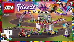 LEGO FRIENDS LE JOUR DE LA GRANDE COURSE #41352***