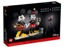 LEGO DISNEY - PERSONNAGES À CONSTRUIRE MICKEY MOUSE ET MINNIE MOUSE #43179