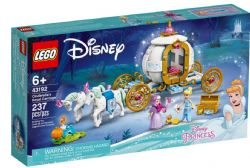DISNEY - LE CARROSSE ROYAL DE CENDRILLON #43192