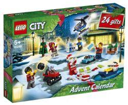 CITY TOWN - LE CALENDRIER DE L'AVENT LEGO® CITY  #60268***