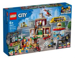 LEGO CITY - LA PLACE DU CENTRE-VILLE # 60271