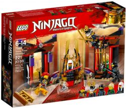 LEGO NINJAGO LE COMBAT DANS LA SALLE DU #70651***