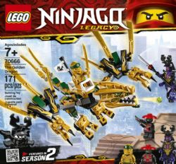 LE DRAGON D'OR (NINJAGO) #70666***