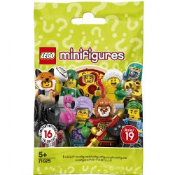 MINIFIGURINES LEGO SAC VERT SÉRIE 19 #71025***