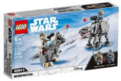 STAR WARS -MICROFIGHTERS AT-AT CONTRE TAUNTAUN #75298