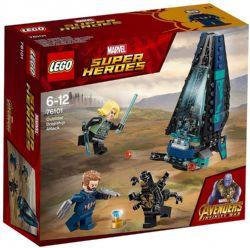 SUPER HEROS AVENGERS L'ATTAQUE #76101***