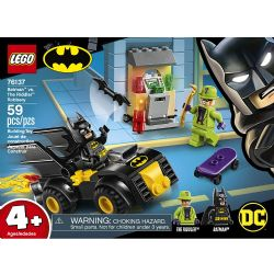 SUPER HEROES BATMAN VS THE RIDDLER #76137
