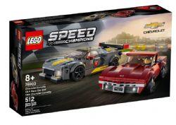 SPEED CHAMPIONS - CHEVROLET CORVETTE C8.R RACE CAR ET 1968 CHEVROLET CORVETTE #76903