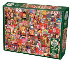 COBBLE HILL CT 1000PCS - DOLLIES