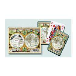 CARTES MAP MONDE JEU DOUBLE