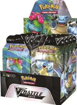 POKEMON BATTLE DECKS VENUSAUR V/BLASTOISE V