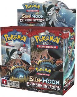 PAQUET DE CARTE POKEMON CRIMSON INVASION BOOSTER