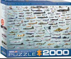 EUROGRAPHICS CT 2000 PCS - AVIONS MILITAIRES