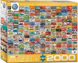 EUROGRAPHICS 2000 PCS - MINIBUS VW