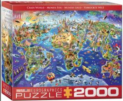 EUROGRAPHICS 2000 PCS - MONDE FOU (ADRIAN)