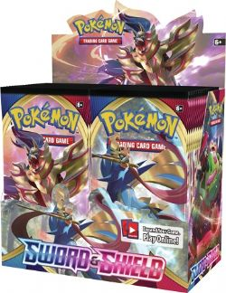 POKEMON SWORD AND SHIELD BOOSTER