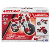 MECCANO JR SUPER MOTOS 49PCS