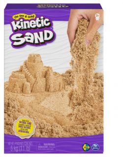 KINETIC SAND - SABLE SYNTHÉTIQUE BRUN EN BOÎTE DE 11 LBS