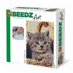 BEEDZ ART - CHAT (HAMA POUR ADULTES)