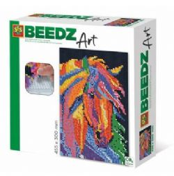 BEEDZ ART - CHEVAL FANTAISISTE  (HAMA POUR ADULTES)