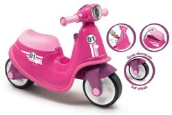 SMOBY - PORTEUR SCOOTER ROSE