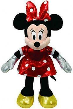 MINNIE ROUGE PELUCHE MEDIUM