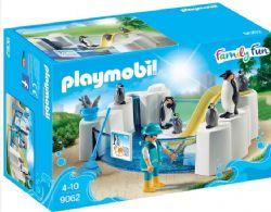 PLAYMOBIL BASSIN DE MANCHOTS #9062***