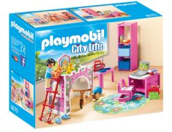 PLAYMOBIL - CHAMBRE D'ENFANT #9270