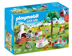 PLAYMOBIL - FAMILLE ET BARBECUE ESTIVAL #9272