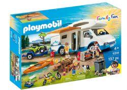 PLAYMOBIL - AVENTURE AU CAMPING #9318