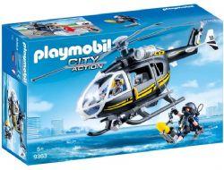 HELICOPTERE ET POLICIERS D'ELITE #9363***