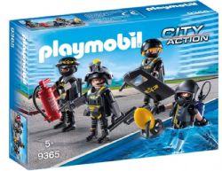 PLAYMOBIL POLICIERS D'ELITE #9365***