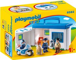 COMMISSARIAT DE POLICE TRANSPORTABLE #9382***