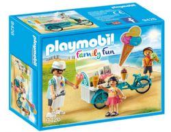 PLAYMOBIL - MARCHAND DE GLACE ET TRIPORTEUR #9426