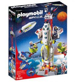 PLAYMOBIL - FUSEE MARS AVEC PLATEFORME DE LANCEMENT #9488
