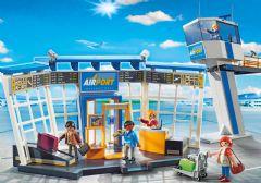***PLAYMOBIL AÉROPORT AVEC TOUR DE CONTRÔLE #5338