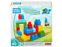 MEGA BLOKS CONSTRUISONS ENSEMBLE 40 PCS