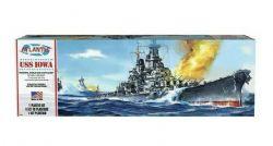 MODÈLE À COLLER - USS IOWA BATTLESHIP 1/535 NIVEAU #
