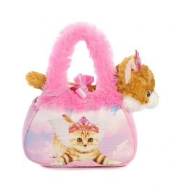 SAC ROSE A CHAT  AURORA FANCY PALS